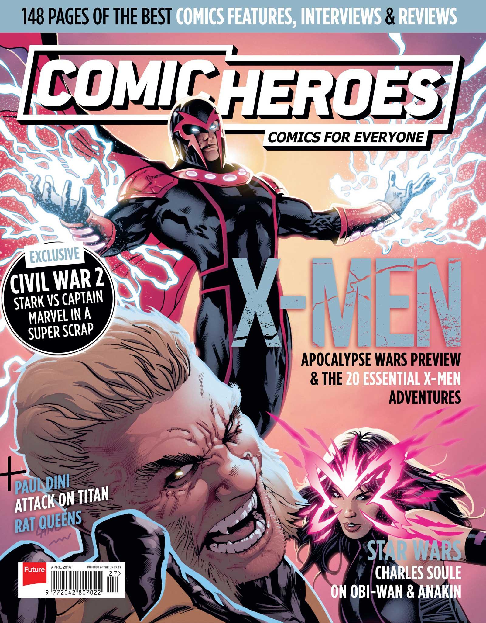 Comic Heroes 27 - Cover