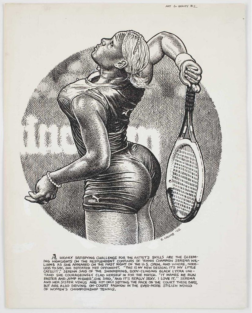 Art from Art & Beauty Magazine: Drawings by R. Crumb G R. Crumb