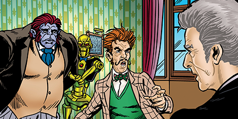 Doctor Who Adventures #14 - Art Sample 1
