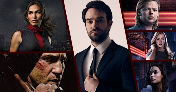 Daredevil TV Series Cast. Image courtesy Wizard World/Netflix