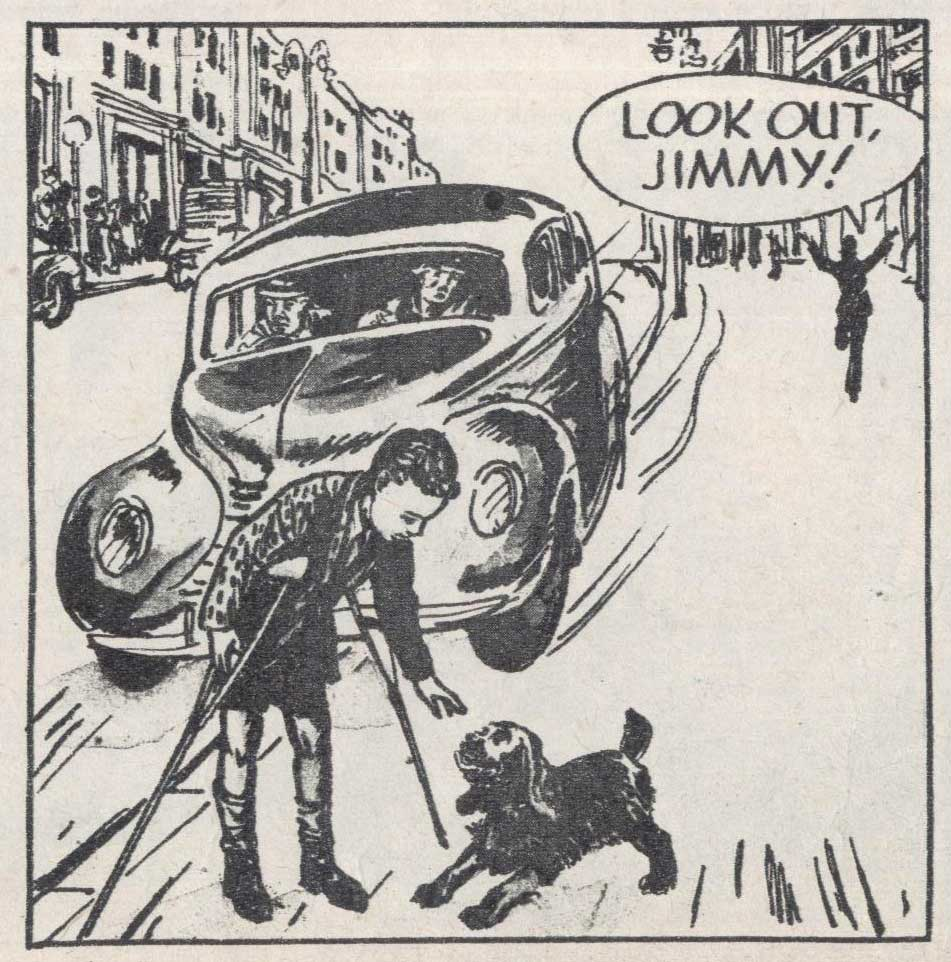 """""""The Adventures of P.C.49"""", drawn by Strom Gould"""