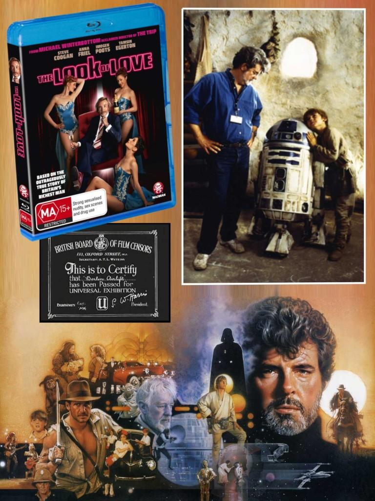 The Look of Love, Film Board Cert & George Lucas