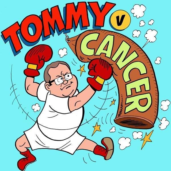 Tommy Vs. Cancer. Visit http://www.tommyVcancer.com/ for more info. Image courtesy of the legend that is Nigel Parkinson.