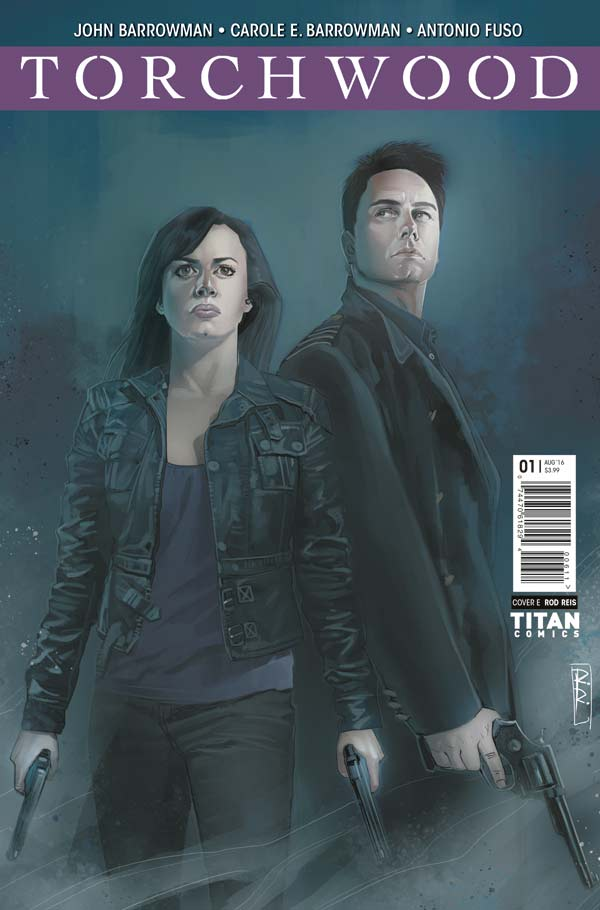 Torchwood #1 Cover E by Rod Reis
