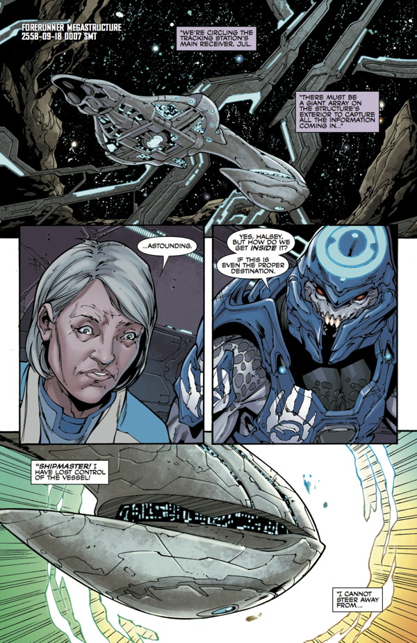Art from the Dark Horse Halo series by Ian Richardson