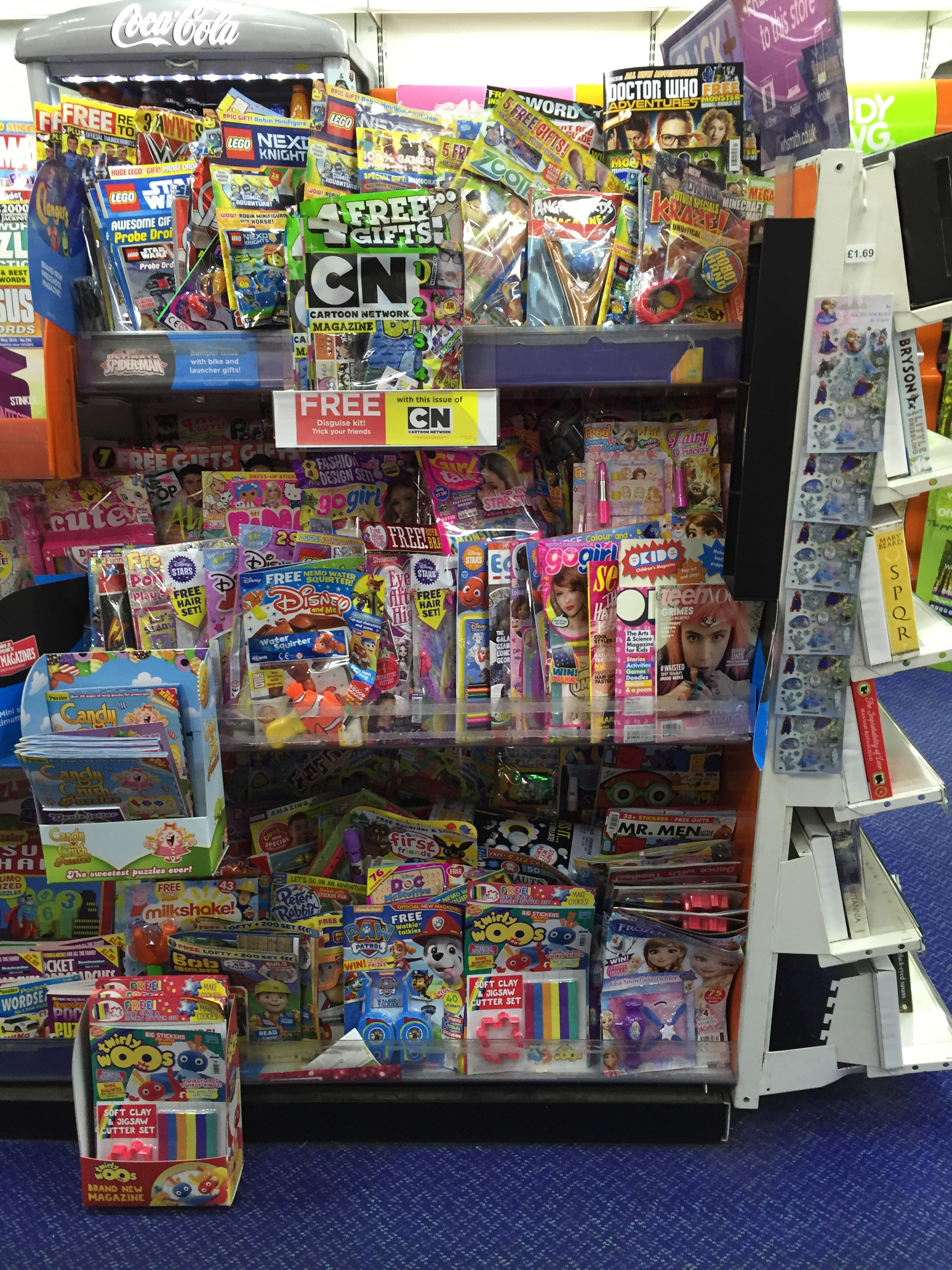 The rotten state of newsagents is it any wonder publishers are the childrens comic shelves in whsmith lancaster on friday 29th april 2016 photo john solutioingenieria Choice Image