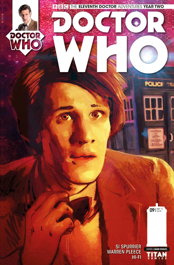 Doctor Who: The Elventh Doctor Year Two #9 - Cover A