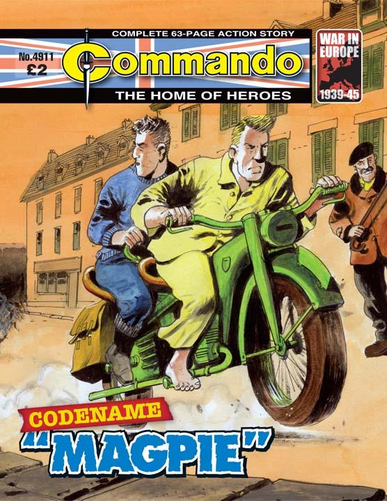 """Commando 4911 – Codename """"Magpie"""""""