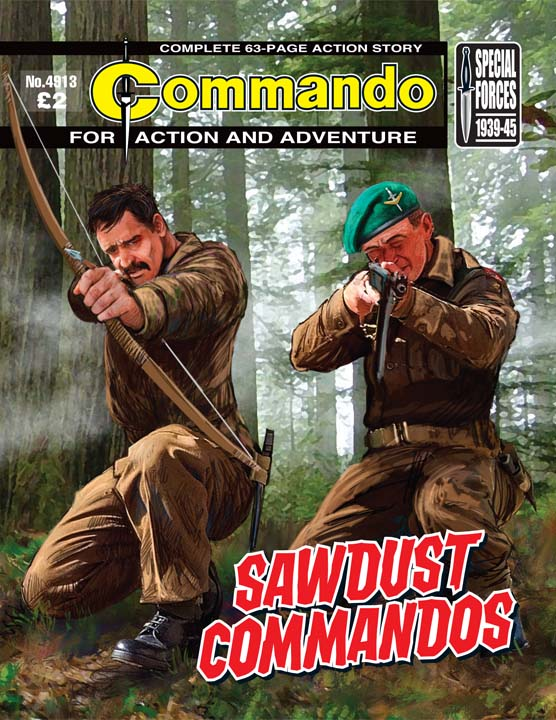 Commando No 4913 – Sawdust Commandos