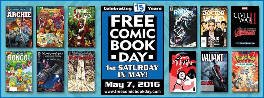 Free Comic Books Day 2016