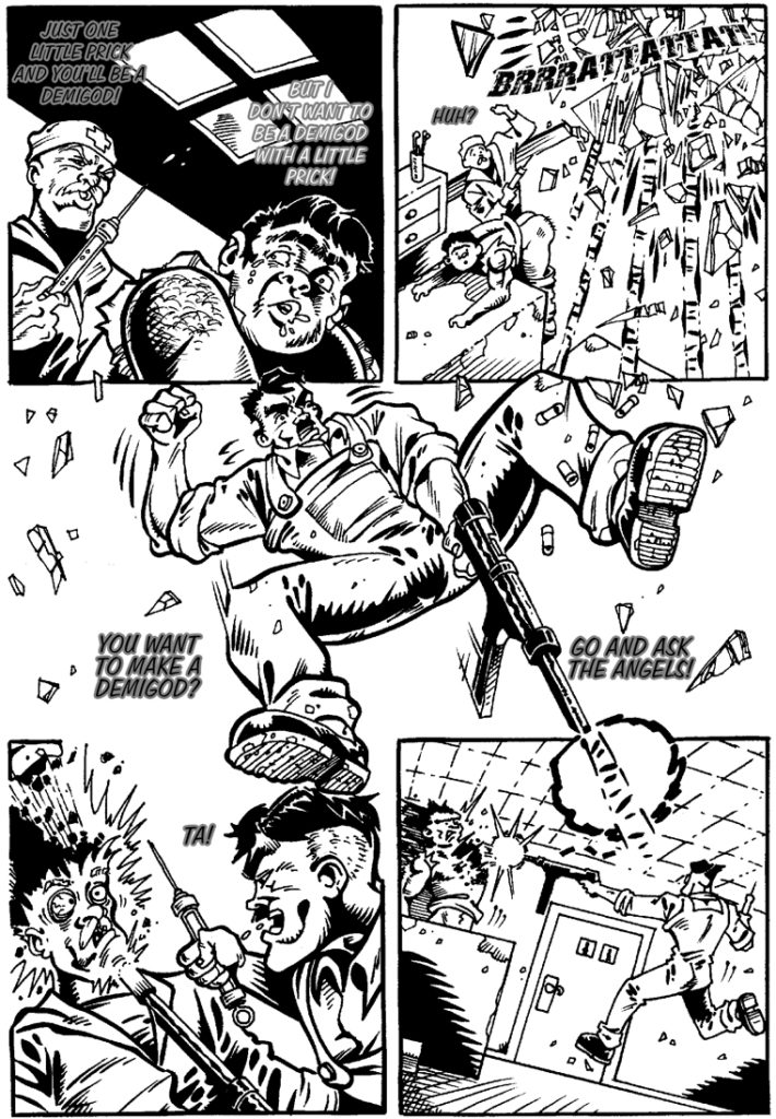 Hard-Boiled Hitler as seen in Violent!