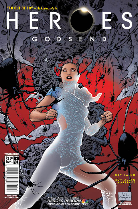 Heroes: Godsend #3 - Cover A