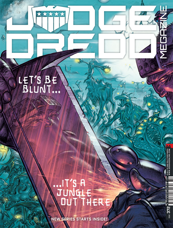 Judge Dredd Megazine Issue 372