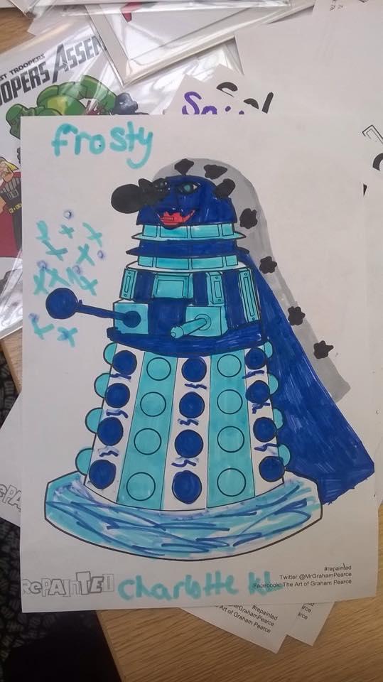 REPAINTED Dalek - Lancaster Comics Day 2015