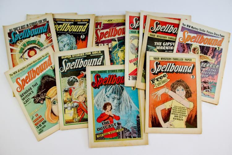 Spellbound comics. Photo: Langley & Jones Specialist Auctions