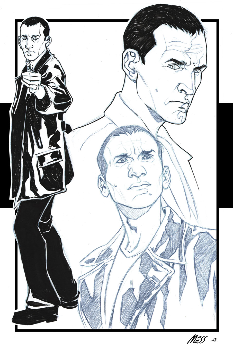 The Ninth Doctor by David Messina