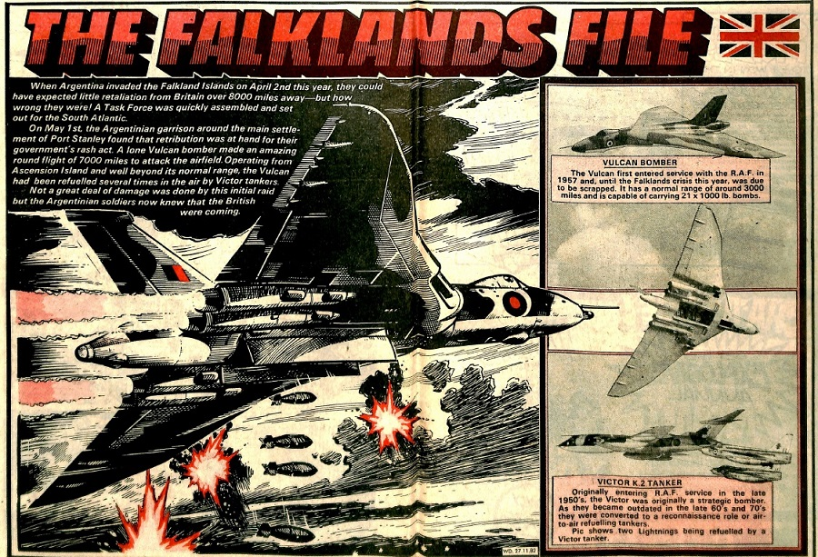 The Falklands File - from Warlord