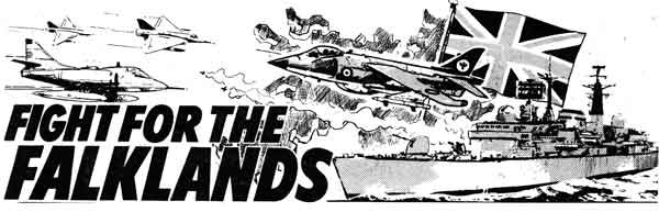Battle's documentary-styled re-telling of the Fight for the Falklands was written by John (Judge Dredd) Wagner, with art by Jim Watson