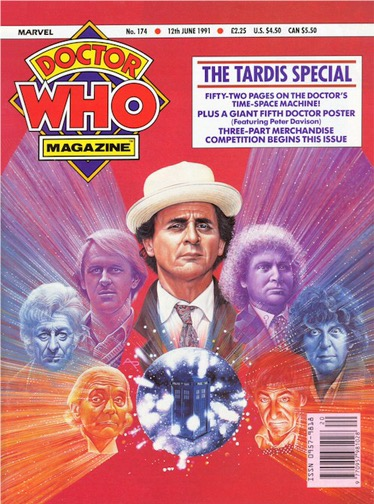 Doctor Who Magazine Issue 174