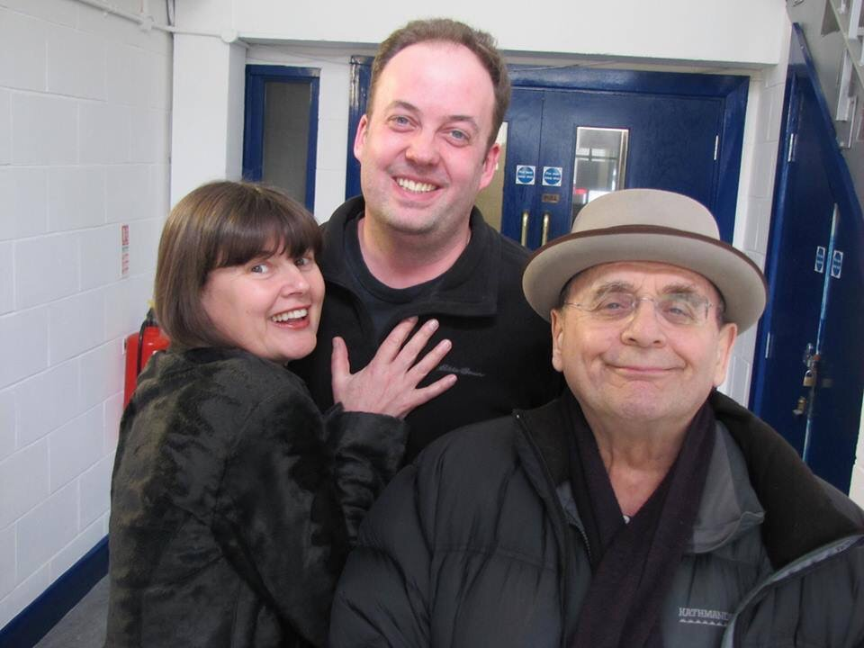 Sophie Aldred, Paul Spragg and Sylvster McCoy. Photo: Big Finish