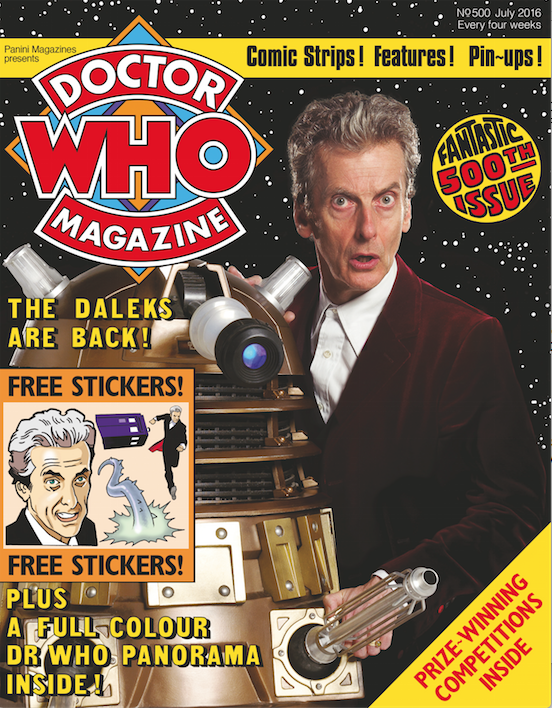 Doctor Who Magazine Issue 500 - Doctor Who Magazine Supplement