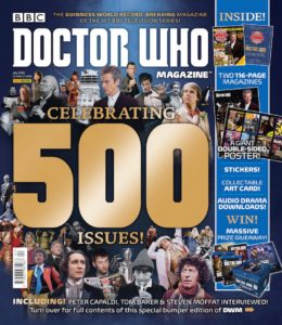 Sales success for Doctor Who Magazine Issue 500