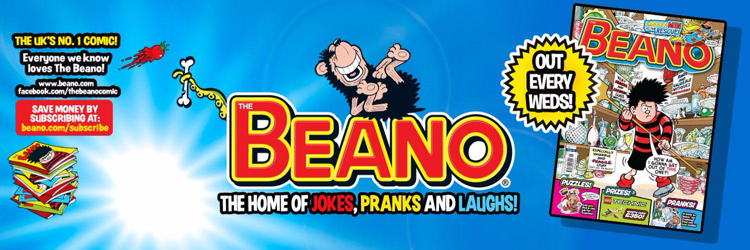 The Beano comic promotional image 2016