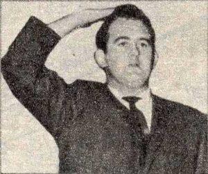 Derek Pierson in the Eagle in 1966