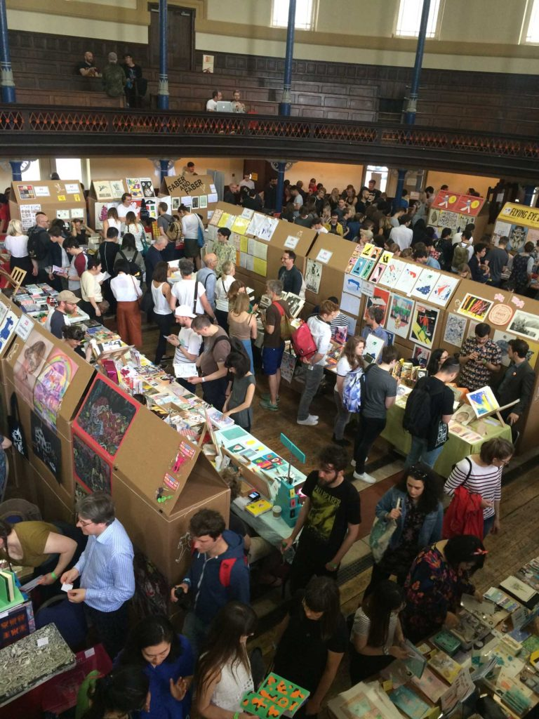 East London Comics Art Festival 2016 - Floor 1