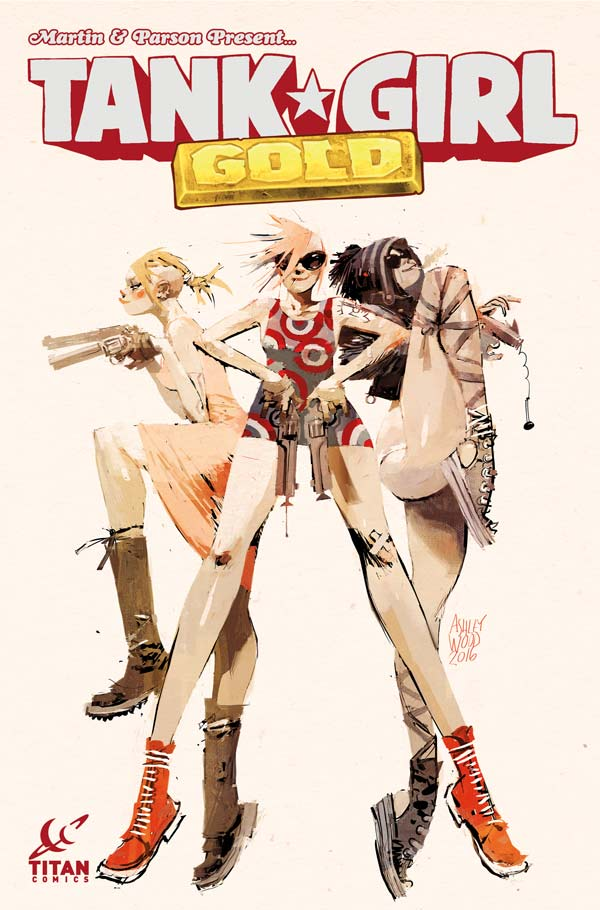 Tank Girl: Gold #1 - Cover A