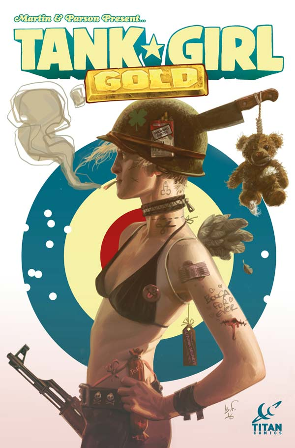 Tank Girl: Gold #1 - Cover B