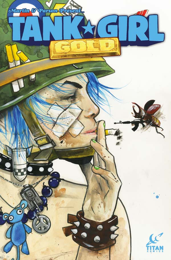 Tank Girl: Gold #1 - Cover D
