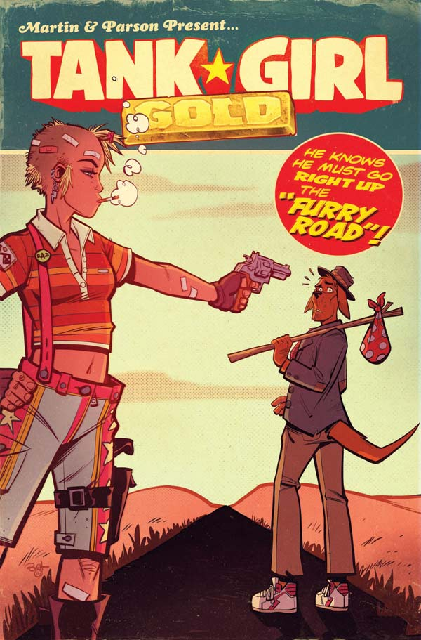Tank Girl: Gold #1 - Cover E