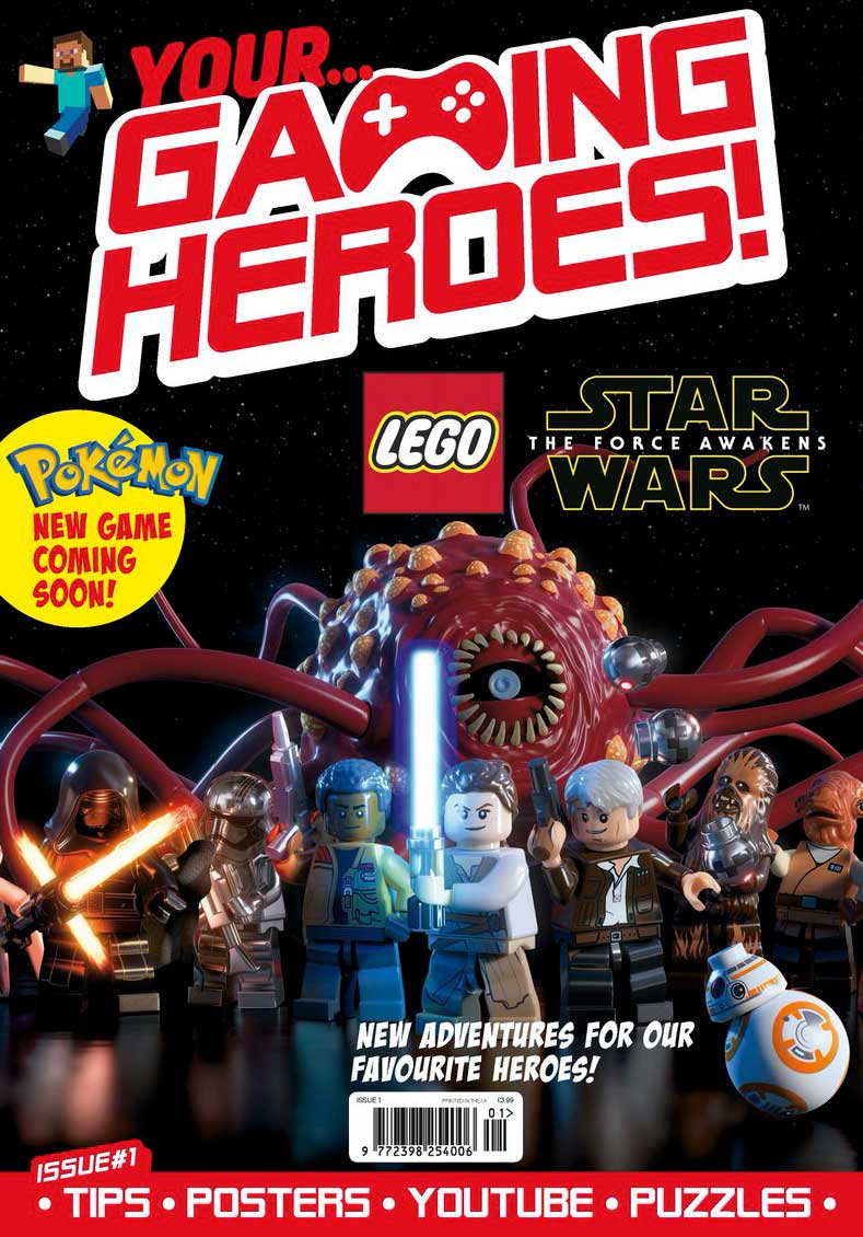 Your Gaming Heroes Issue One