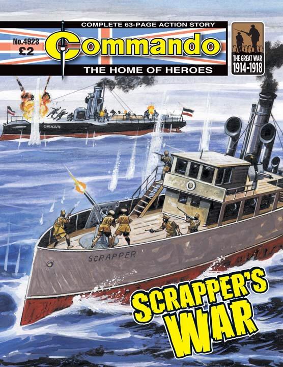 Commando 4923 - Scrapper's War
