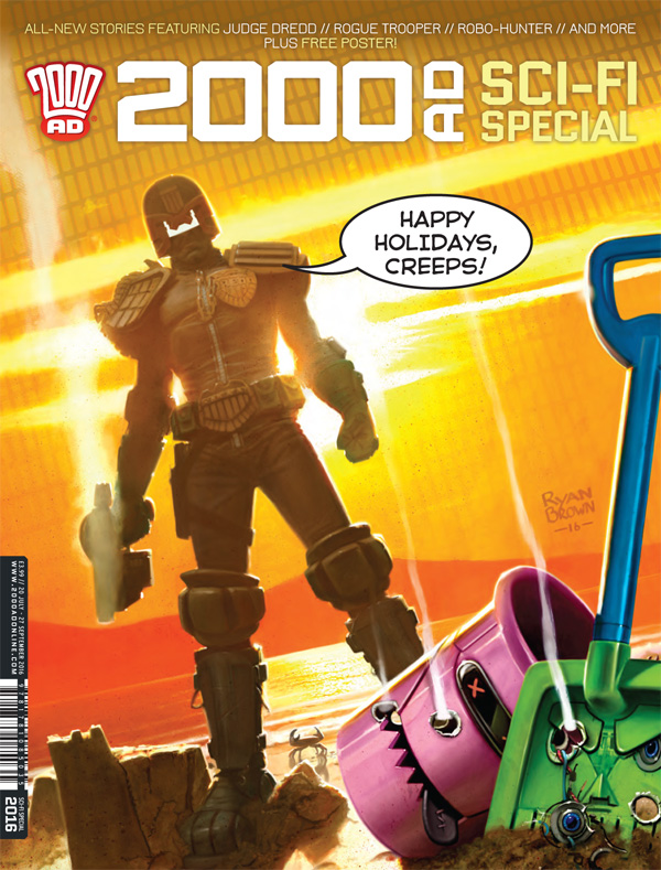 2000AD Summer Special 2016 - Cover