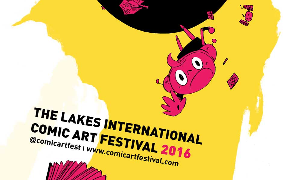 Lakes International Comic Art Festival 2016 Art SNIP