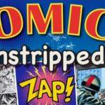 Comics Unstripped Exhibition Leaflet - SNIP