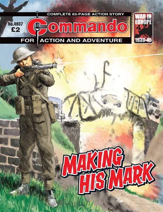 Commando No 4937 – Making His Mark