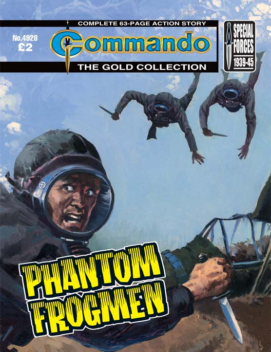 Commando No 4928 – Phantom Frogmen