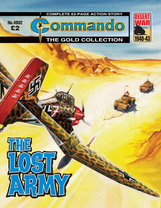 Commando No 4932 – The Lost Army
