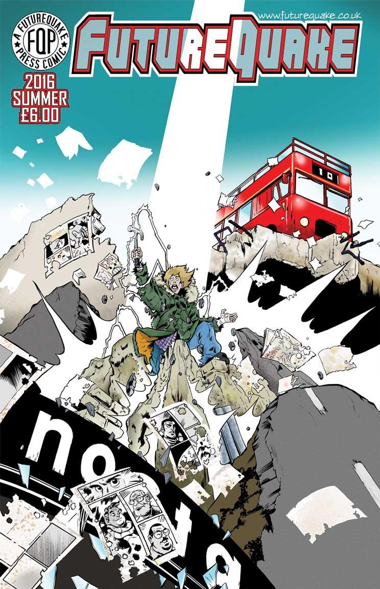 FutureQuake Issue 29 - Cover