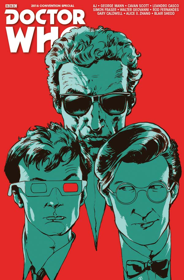 Doctor Who 2016 San Diego Comic Convention Special - Cover B by Simon Fraser