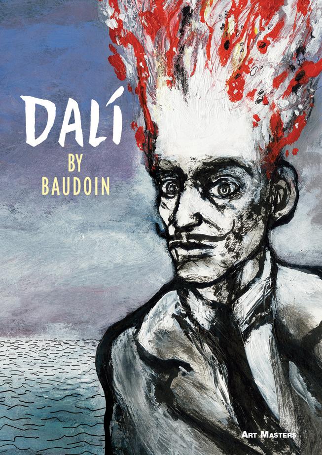 Dalí by Edmond Baudoin