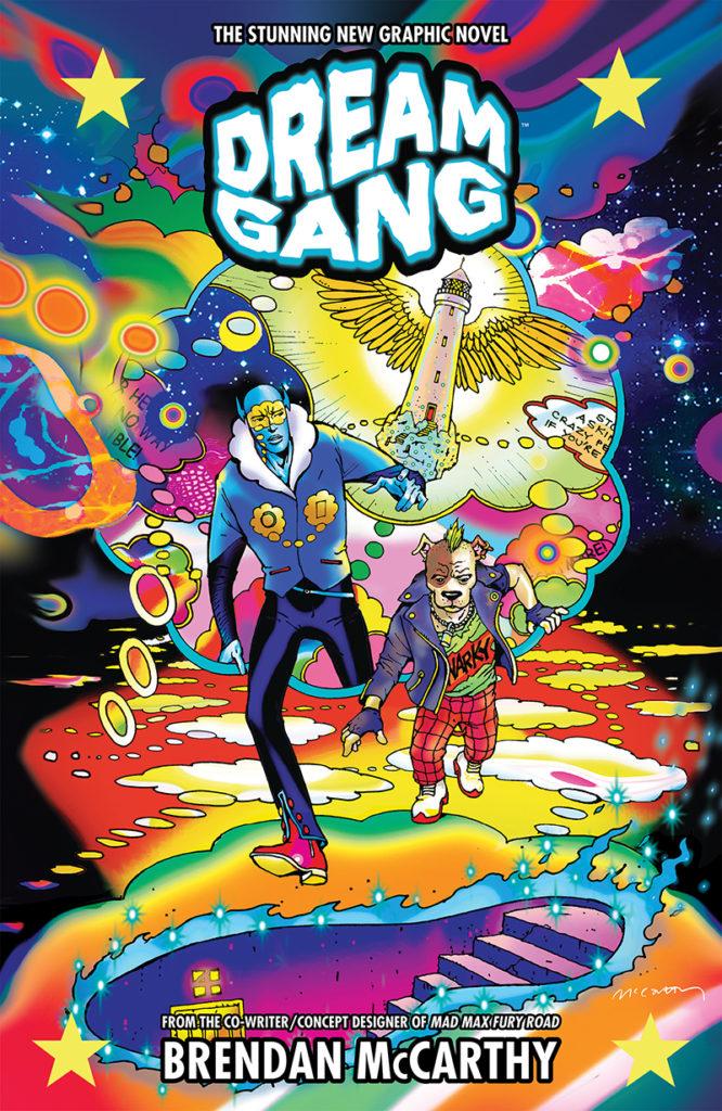 Dream Gang Cover by Brendan McCarthy