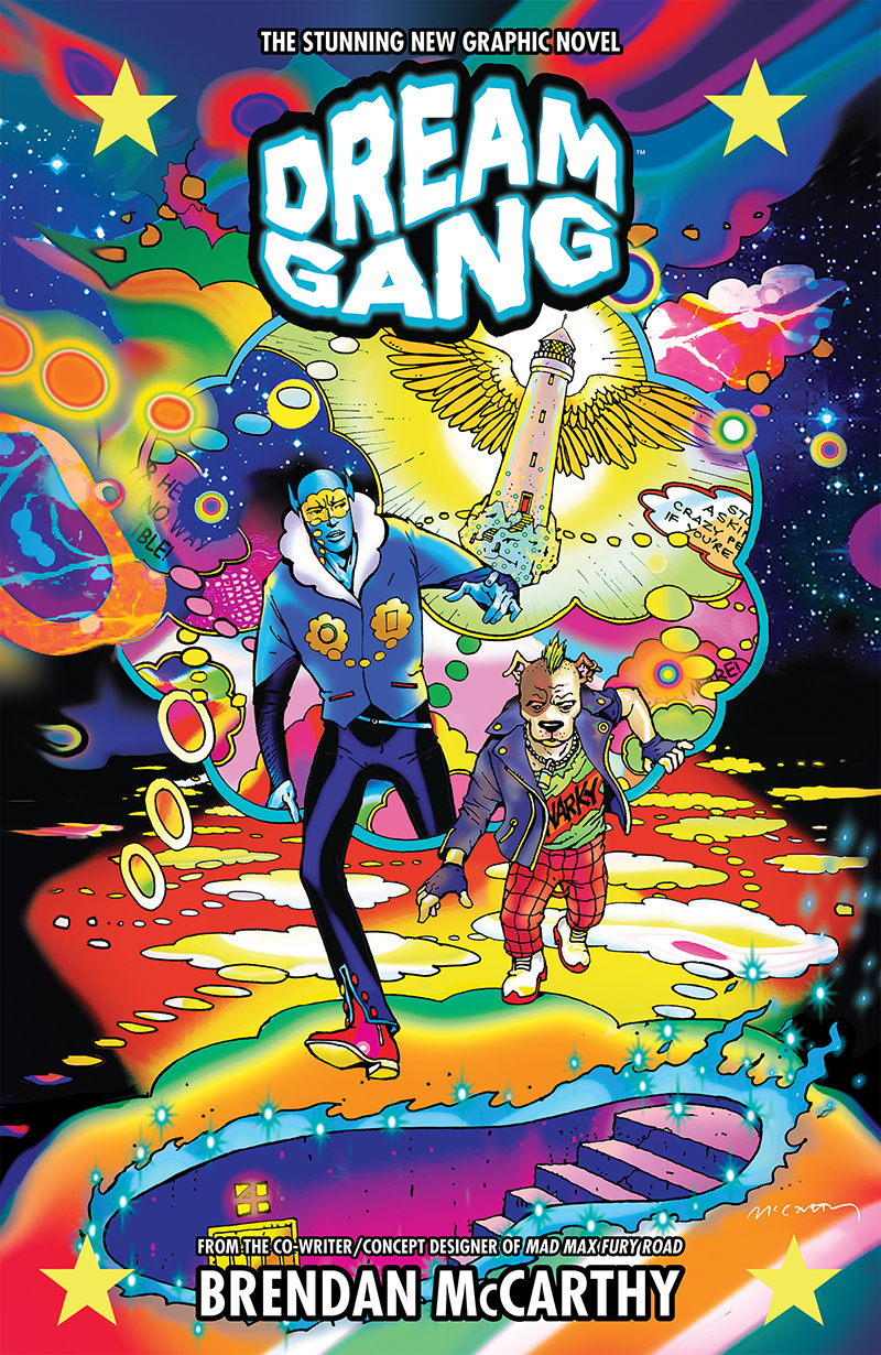 Dream Gang Cover by Brendan McCarthy