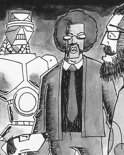 "FutureQuake 29 - ""The Happiest Dan Alive"" by writer Russell Hillman and artist Scott Twells"