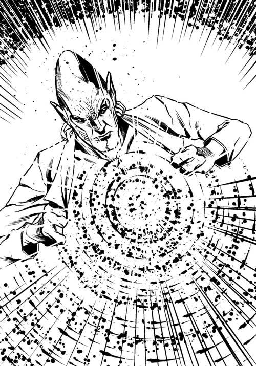 "FutureQuake 29 - ""The Healers"" by writer Mike Kalin and artist Rafael Chrestani"