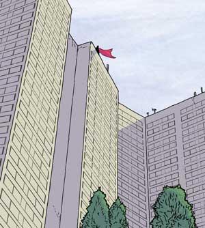 "FutureQuake 29 - ""Super"" by writer Jonathan Stevenson and artist Daniel Bell"