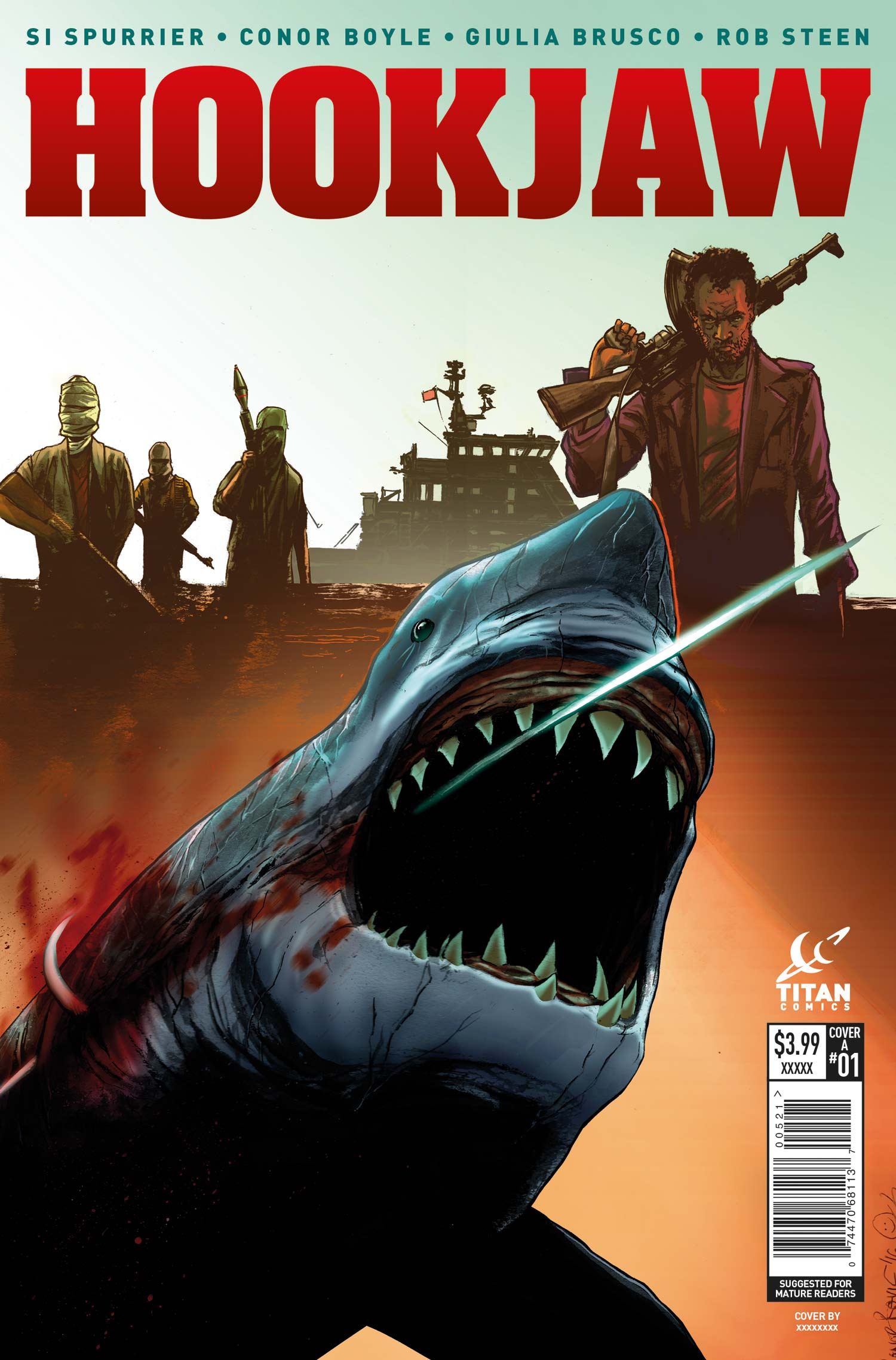 Hook Jaw Cover A - Conor Boyle